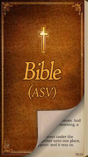 American Standard Bible ASV