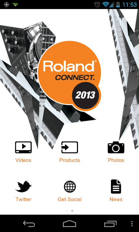 Roland Connect - screenshot