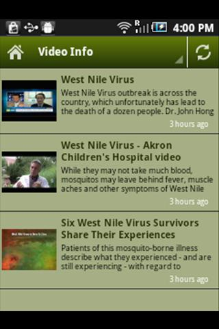 West Nile Virus - screenshot