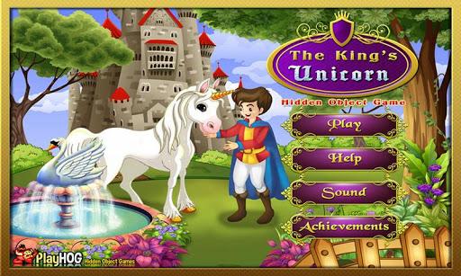 Kings Unicorn - Hidden Objects