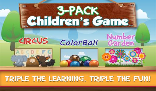 Three Children's Games in One