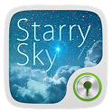 Starry Sky GO Locker Theme icon