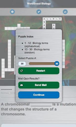 【免費教育App】WordScout Biology-APP點子