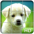 Tile Puzzle: Cute Puppies
