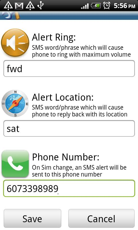 Phone Finder (Trial) - screenshot