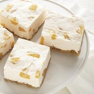 PHILADELPHIA Peaches 'N Cream No-Bake Cheesecake.