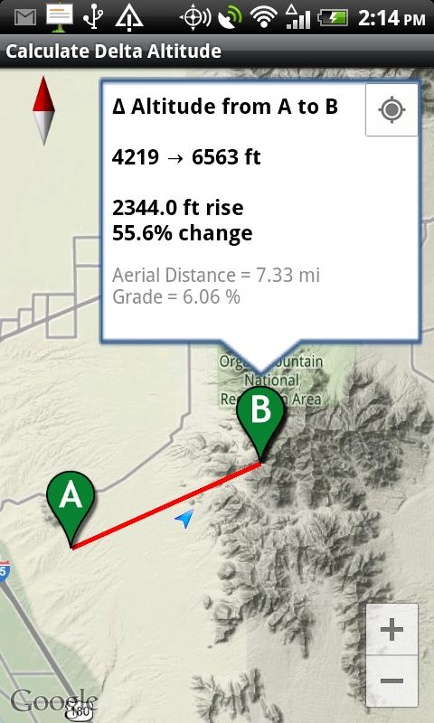 Delta Altitude Android Apps On Google Play - How to determine elevation on google maps