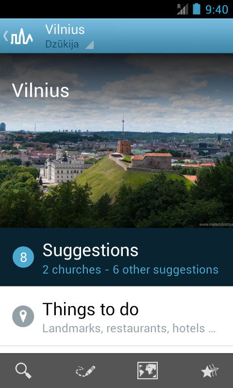 Lithuania Guide by Triposo - screenshot
