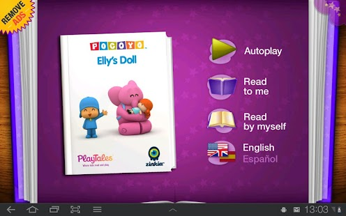 Pocoyo - Elly's Doll - screenshot thumbnail
