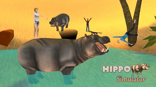 Hippo Attack Simulator 3D