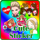 Stickers Happy Line