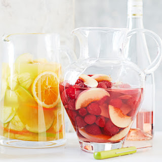 Rose-White Peach Sangria