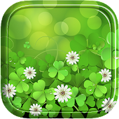 Lucky clover live wallpaper.