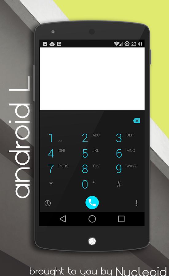 Android L Dark Theme - CM11 PA - screenshot