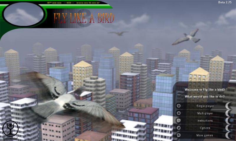 Fly like a bird 3- screenshot