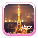 Paris Night Eiffel Tower Theme icon