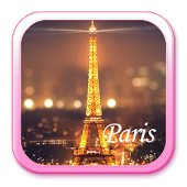 Paris Night Eiffel Tower Theme