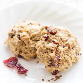 Flax Cranberry Breakfast Cookies