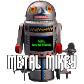Metal Mikey, Talking Robot Toy