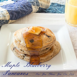 Maple Blueberry Pancakes