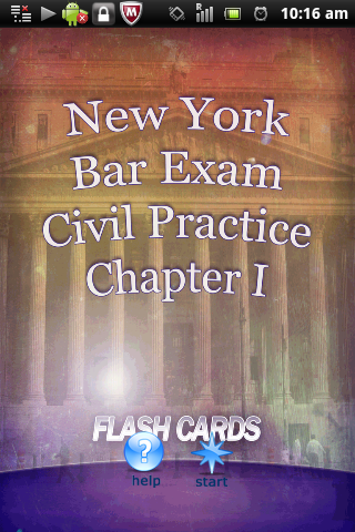 New York Bar Exam Civil 1
