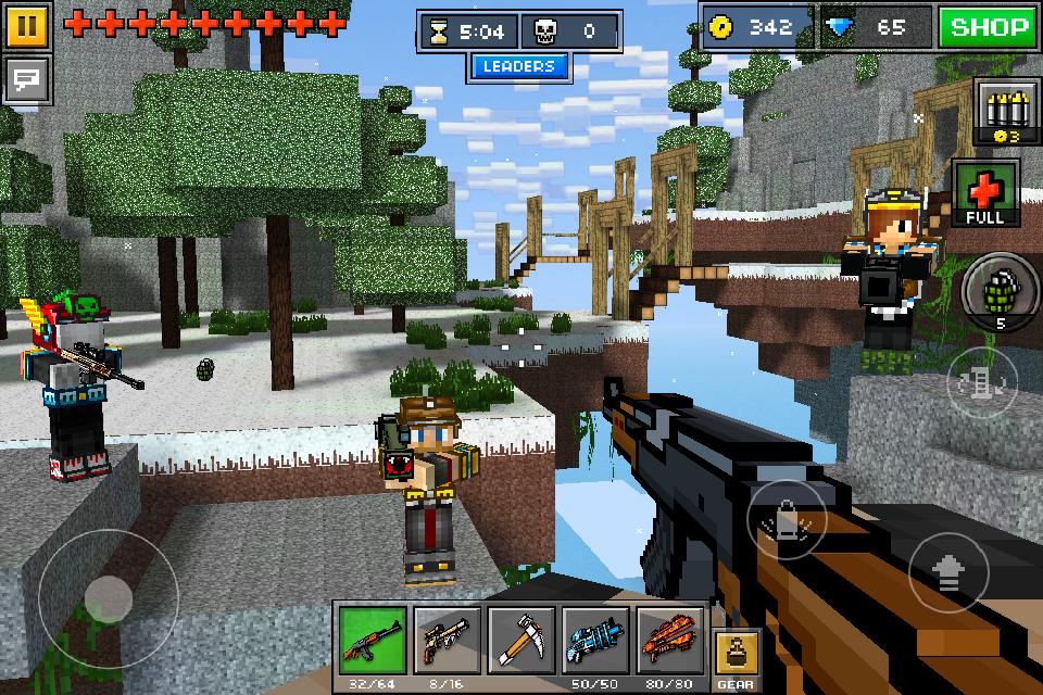 Pixel Gun 3d Spielen