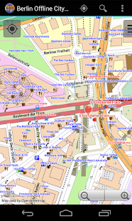 Berlin Offline City Map - screenshot thumbnail