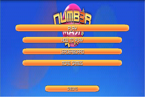 Number Mash Game - screenshot
