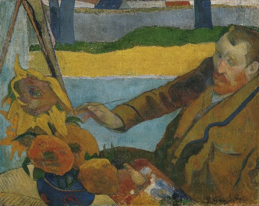 Vincent van Gogh painting sunflowers - Paul Gauguin - Google Arts & Culture
