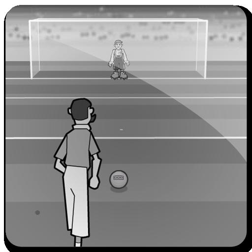 クラシックフリーキックサッカー 體育競技 LOGO-玩APPs