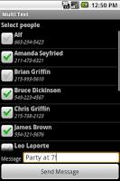 Screenshot of Multi Text
