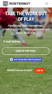 RosterBot Mobile Team Manager- screenshot thumbnail