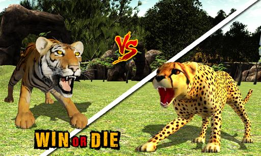 非洲獵豹的生存辛