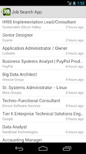 Job Search App- screenshot thumbnail