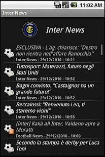 zNews - FC Inter - screenshot thumbnail