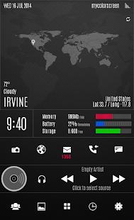 Dark Pro UI Theme- screenshot thumbnail