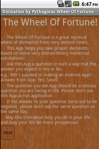 Divination by Pythagoras(FREE)- screenshot