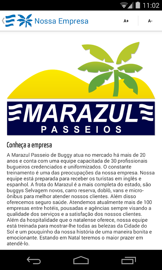 Marazul Turismo- screenshot