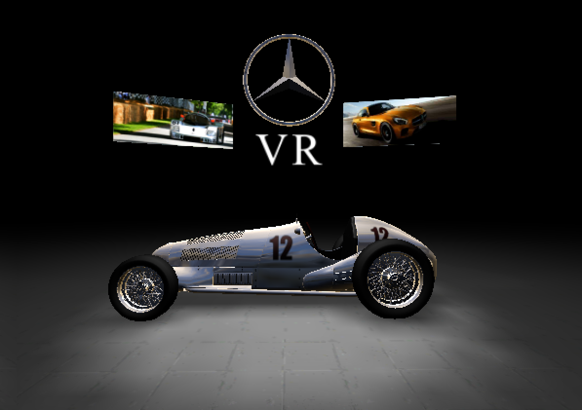 Mercedes VR for Cardboard- screenshot