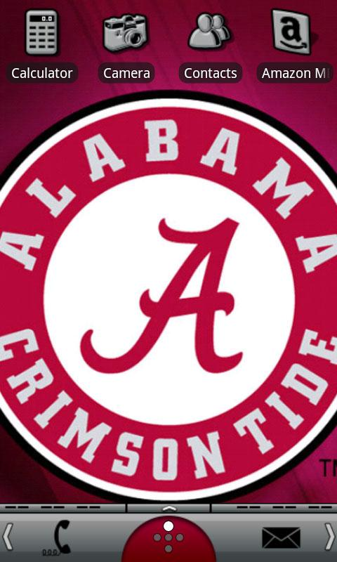 Alabama Crimson Tide Theme - screenshot