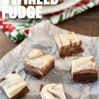 Swirled Fudge