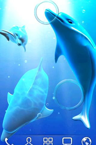 Dolphin LiveWallpaper - screenshot