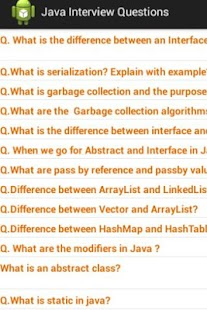 Java J2EE Questions Free - screenshot thumbnail