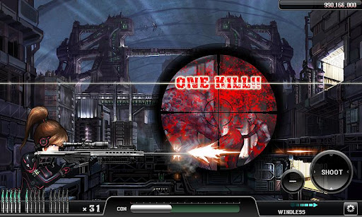 Ghost Sniper Zombie v1.06 Android Game Apk Free Download