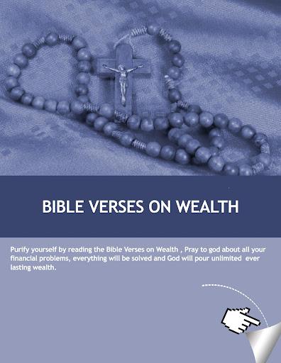 Faith Bible Verses on Wealth