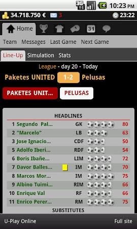 Striker Manager (soccer) 0.82 screenshot 390643