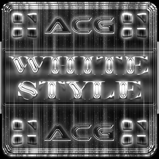 NEXT LAUNCHER WHITESTYLE THEME
