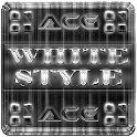 NEXT LAUNCHER WHITESTYLE THEME icon