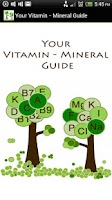 Screenshot of Your Vitamin - Mineral Guide