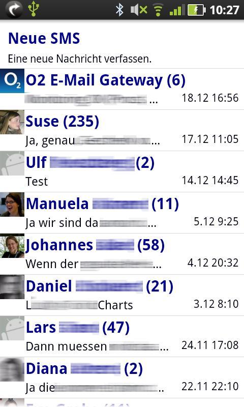 Gschickt FREE (Messaging) - screenshot